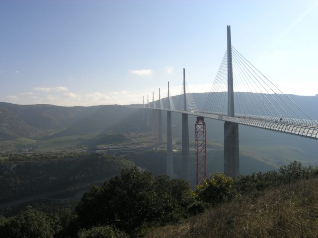 photo du viaduc de Millau